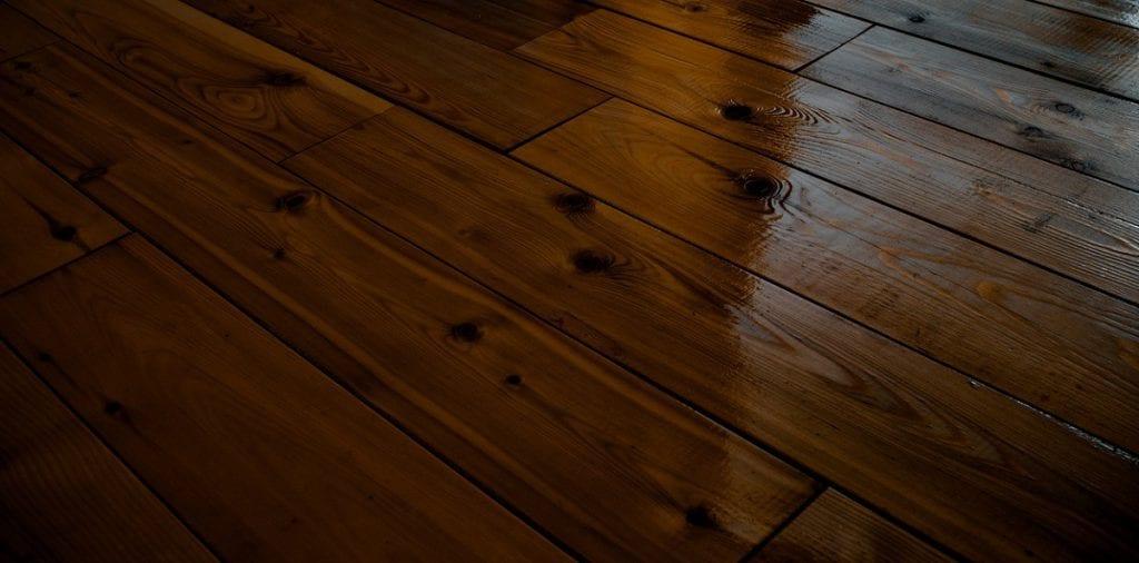Beautiful refinished hardwood floor