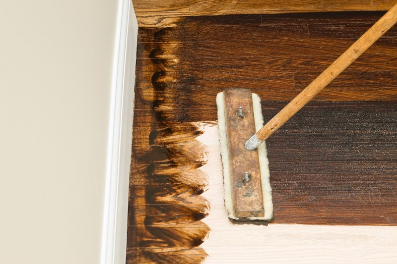 staining and refinishing wood floors
