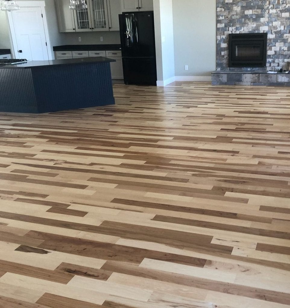 Hardwood floor Site Finish