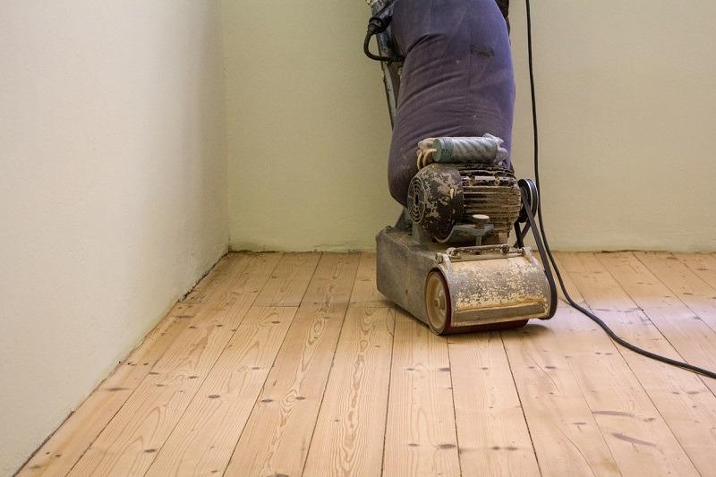 sanding wood floors for refinishing